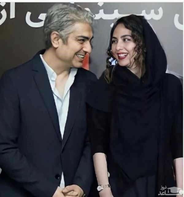 ظاهر جدید مهدی پاکدل کنار همسر دومش