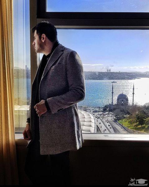 ویلای لاکچری علی ضیا در ترکیه