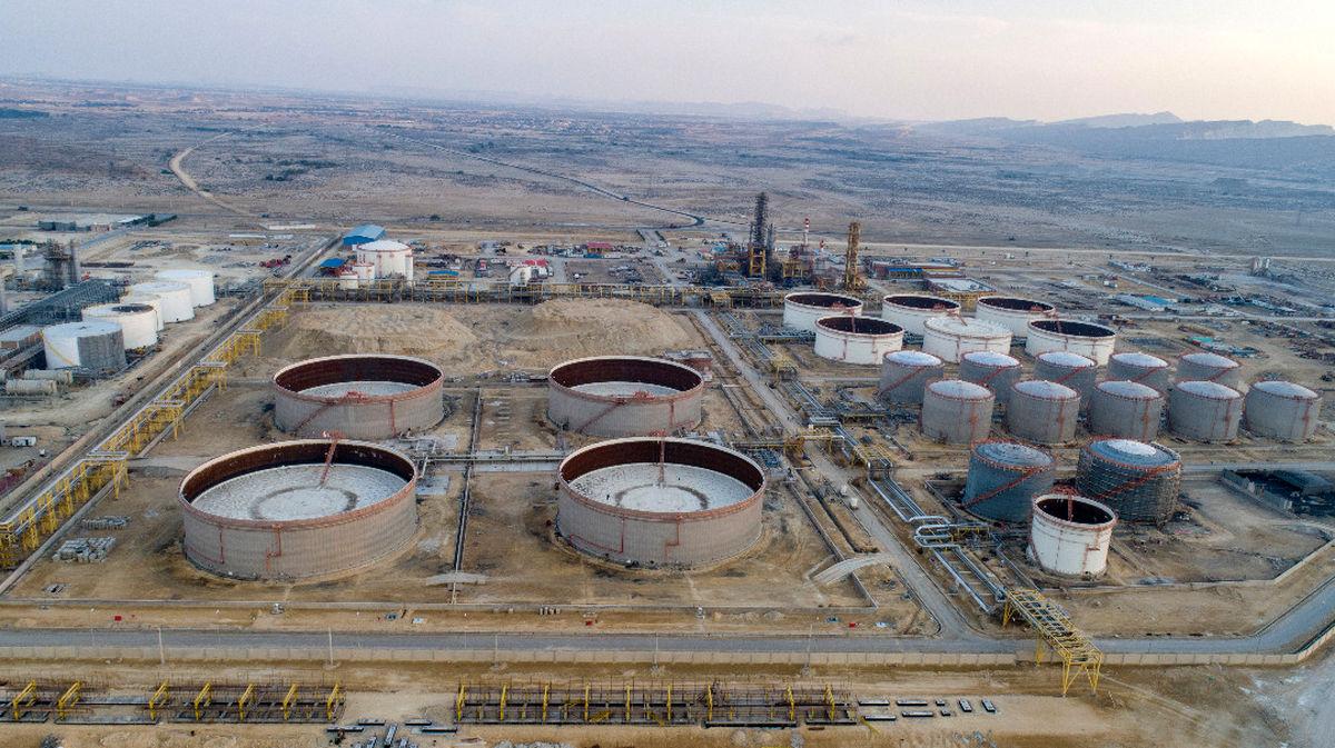 افتتاح فاز نخست  پالایشگاه نفت خام فوق سنگین شرکت پارس بهین پالایش نفت قشم