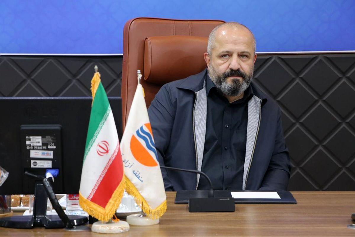 پیام تبریک سرپرست سازمان منطقه آزاد قشم به مناسبت فرارسیدن نوروز 1400