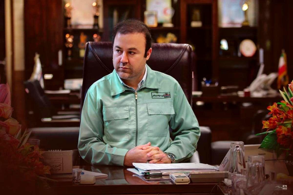 پیام تبریک مدیرعامل شرکت فولاد هرمزگان به وزیر جدید صمت