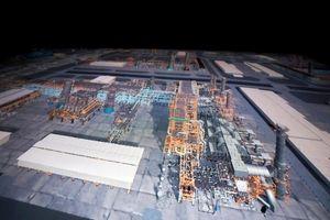 رونمایی از بزرگترین ماکت یک سازه صنعتی در جهان