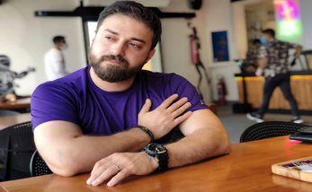 سلفی عاشقانه بابک جهانبخش با همسرش + عکس
