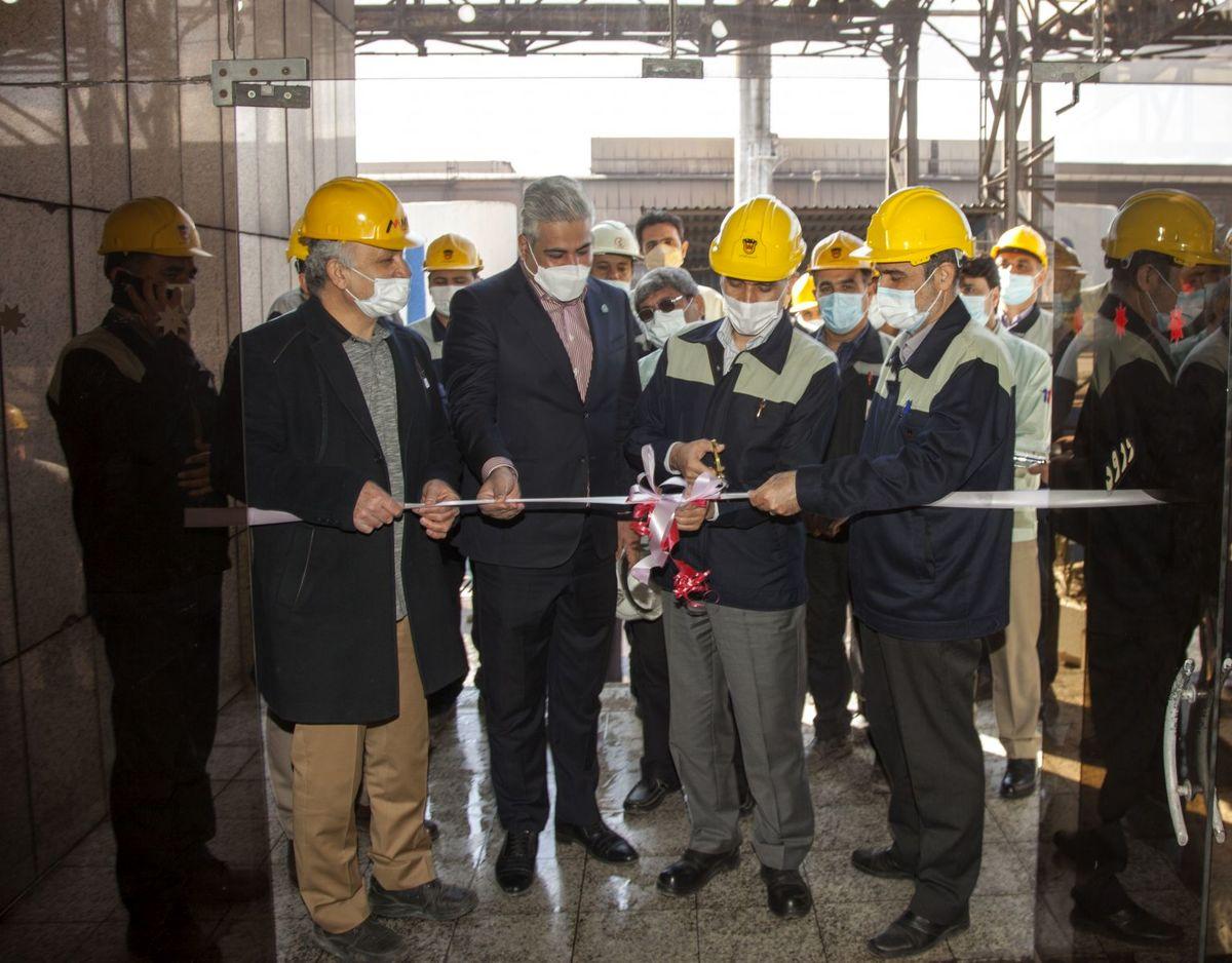 بهره برداری از طرح قائم ذوب آهن اصفهان آغاز شد