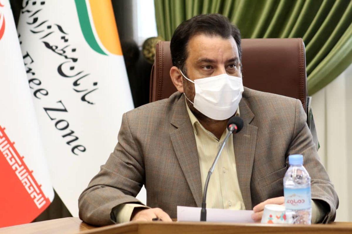 ترانزیت نخستین محموله کالای چین به عراق از مسیر مجتمع بندری کاسپین