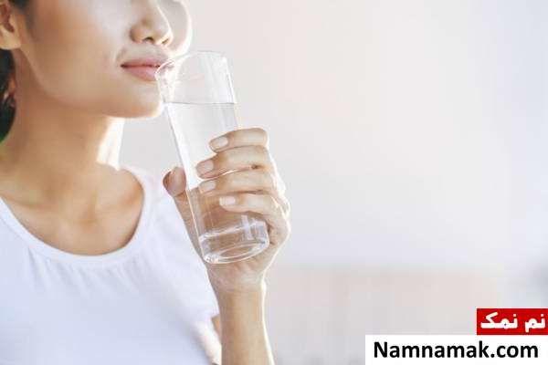 نوشیدن آب کافی برای لاغری