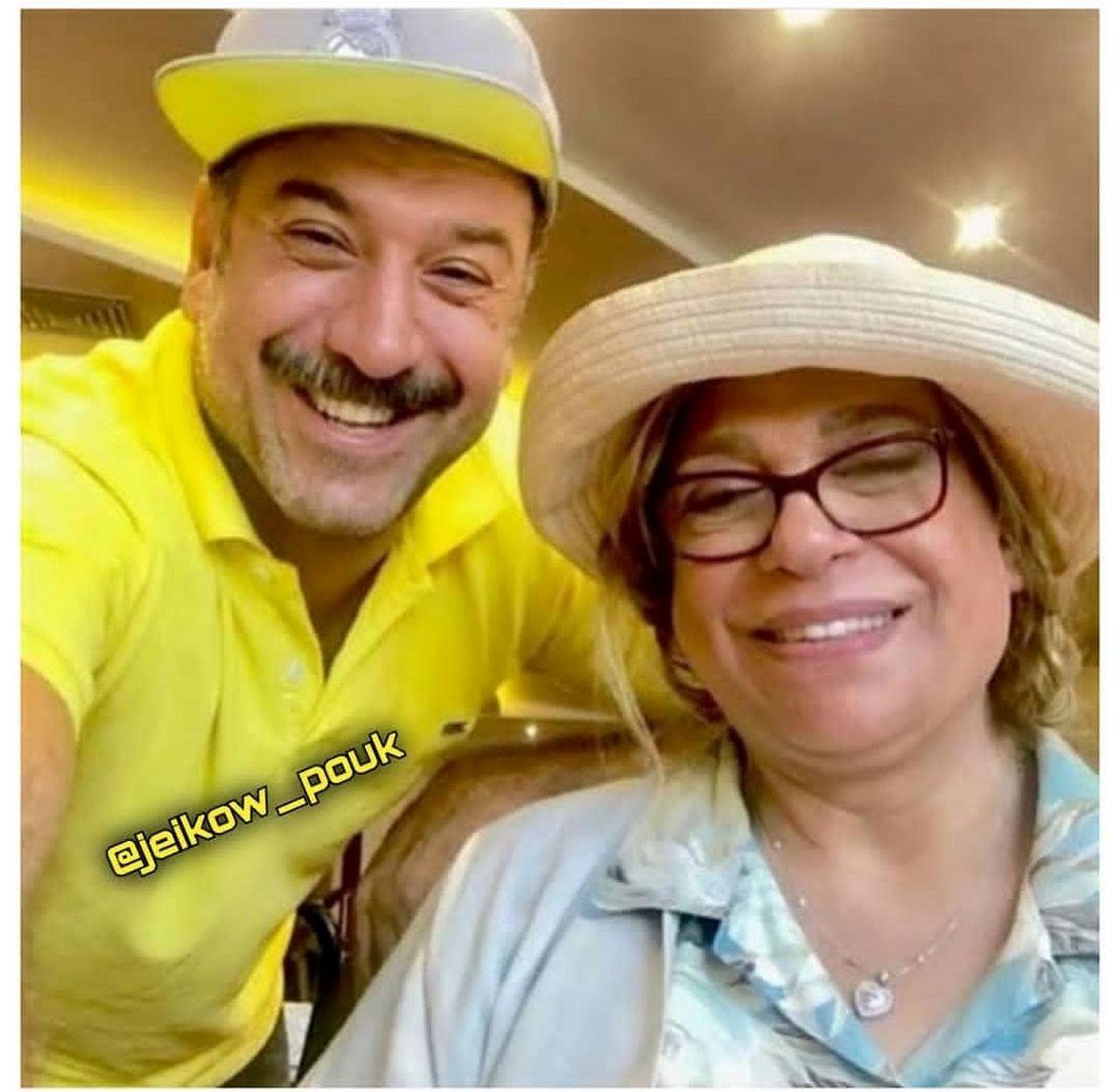 ماجرای ازدواج علی انصاریان با خانم بازیگر قبل از ابتلا به کرونا + عکس