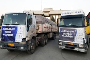 ارسال کمکهای هلدینگ آتیه صبا و شرکتهای تابعه برای زلزله زدگان سیسخت