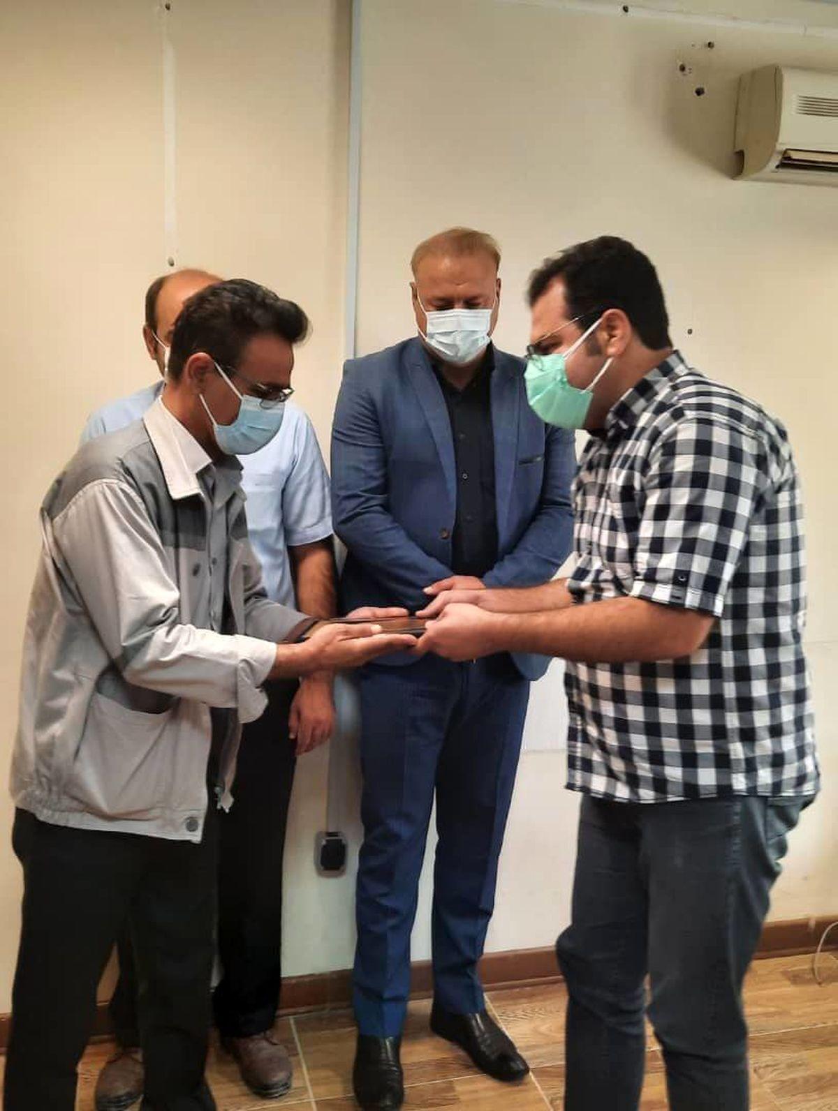 تجلیل از پزشکان شاغل درپتروشیمی ایلام