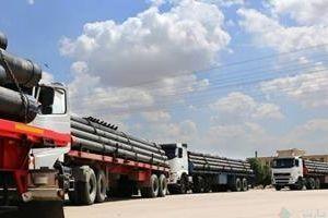 میدان نفتی فروزان پیش به سوی ازدیاد برداشت/ آغاز انتقال لوله های جداری میدان نفتی فروزان