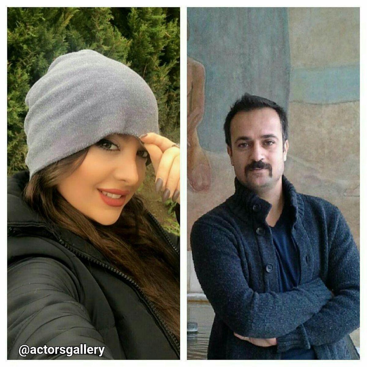 اختلاف سنی بازیگر معروف پایتخت با همسر جوانش + عکس