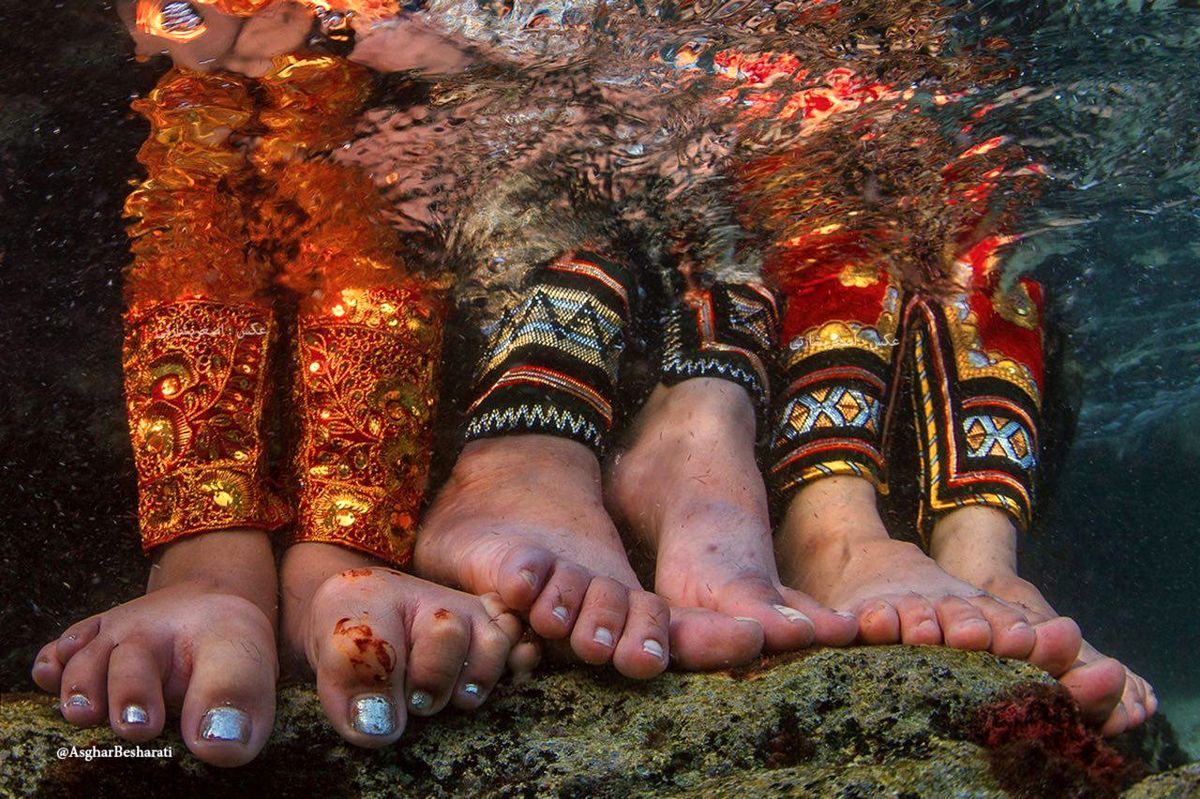 کسب افتخار عکاس قشمی در دو جشنواره بین المللی عکاسی