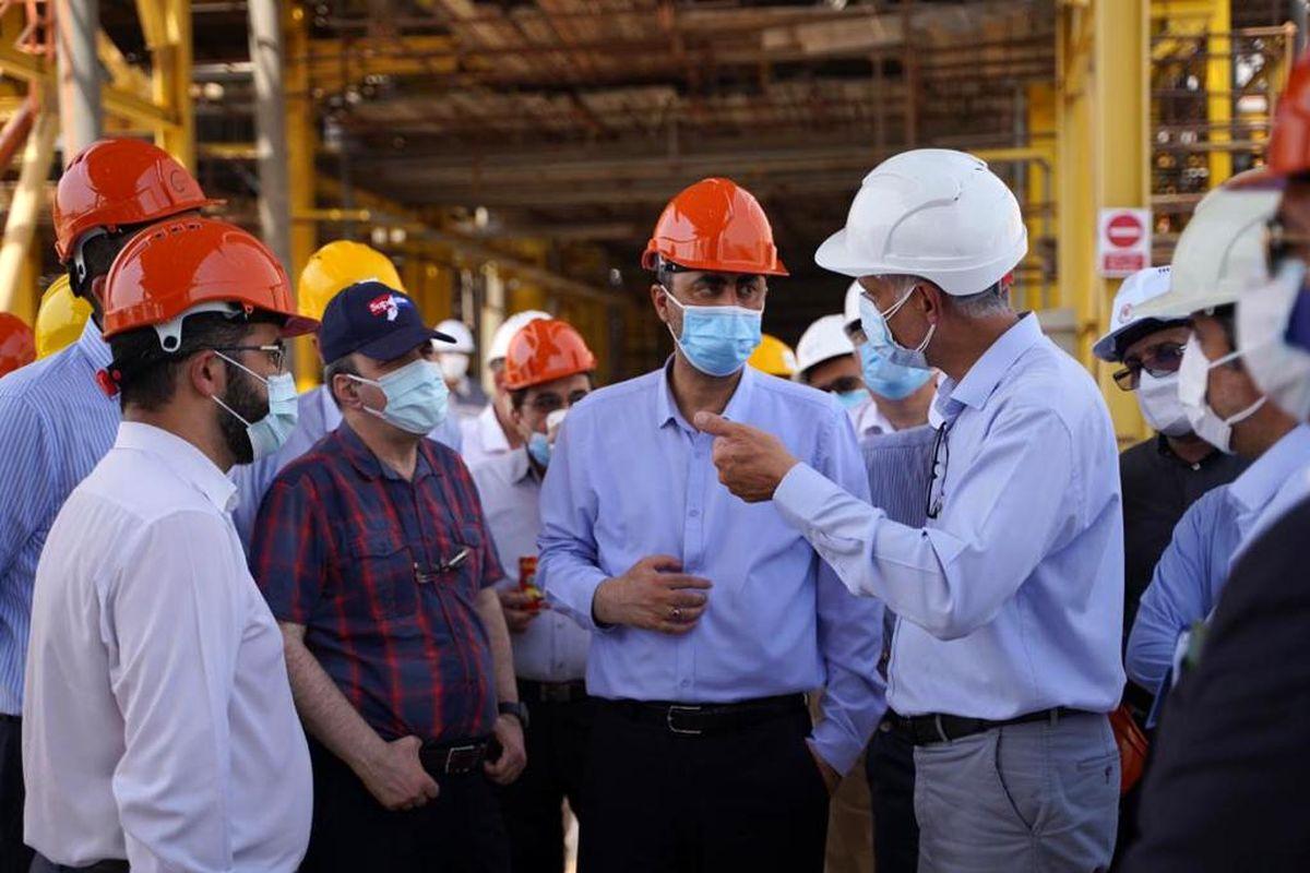تسریع در انجام طرحهای گروه صنایع پتروشیمی خلیج فارس در عسلویه