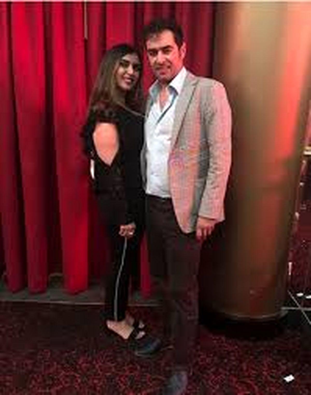 شهاب حسینی در کنار همسر خارجی اش  + عکس دونفره