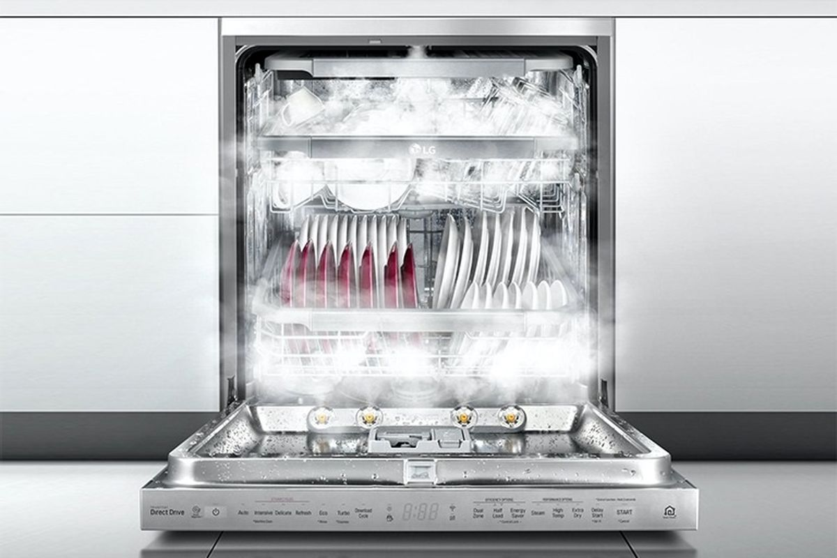 همهچیز درباره تکنولوژی بخار در ماشینهای ظرفشویی