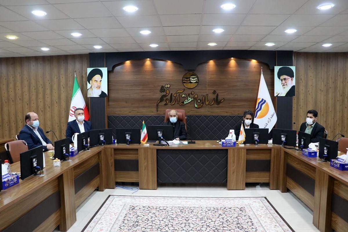 بررسی وضعیت پروژه های قابل افتتاح ریاست جمهوری درجزیره قشم