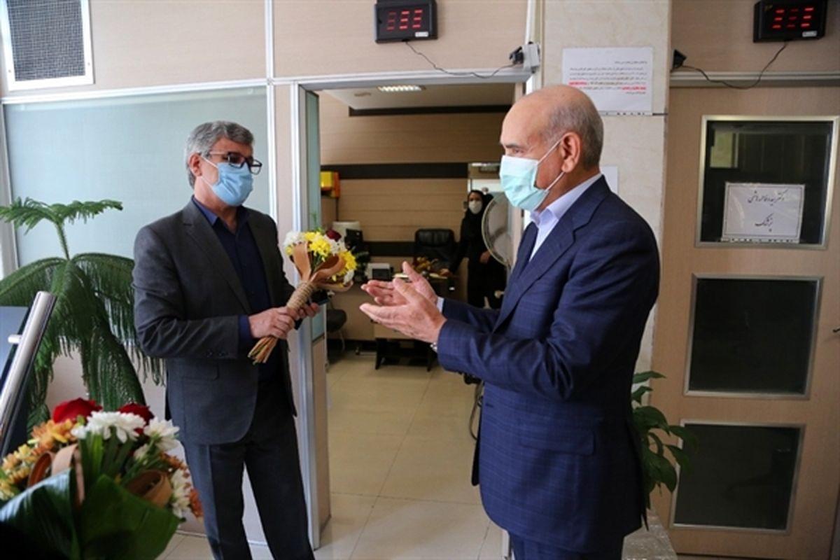 قدردانی مدیرعامل بانک کشاورزی از پزشکان این بانک به مناسبت روز پزشک