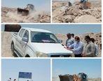41.2 هزار مترمربع  اراضی خالصه دولتی به ارزش 41.2میلیارد ریال در روستای رمچاه قشم رفع تصرف شد