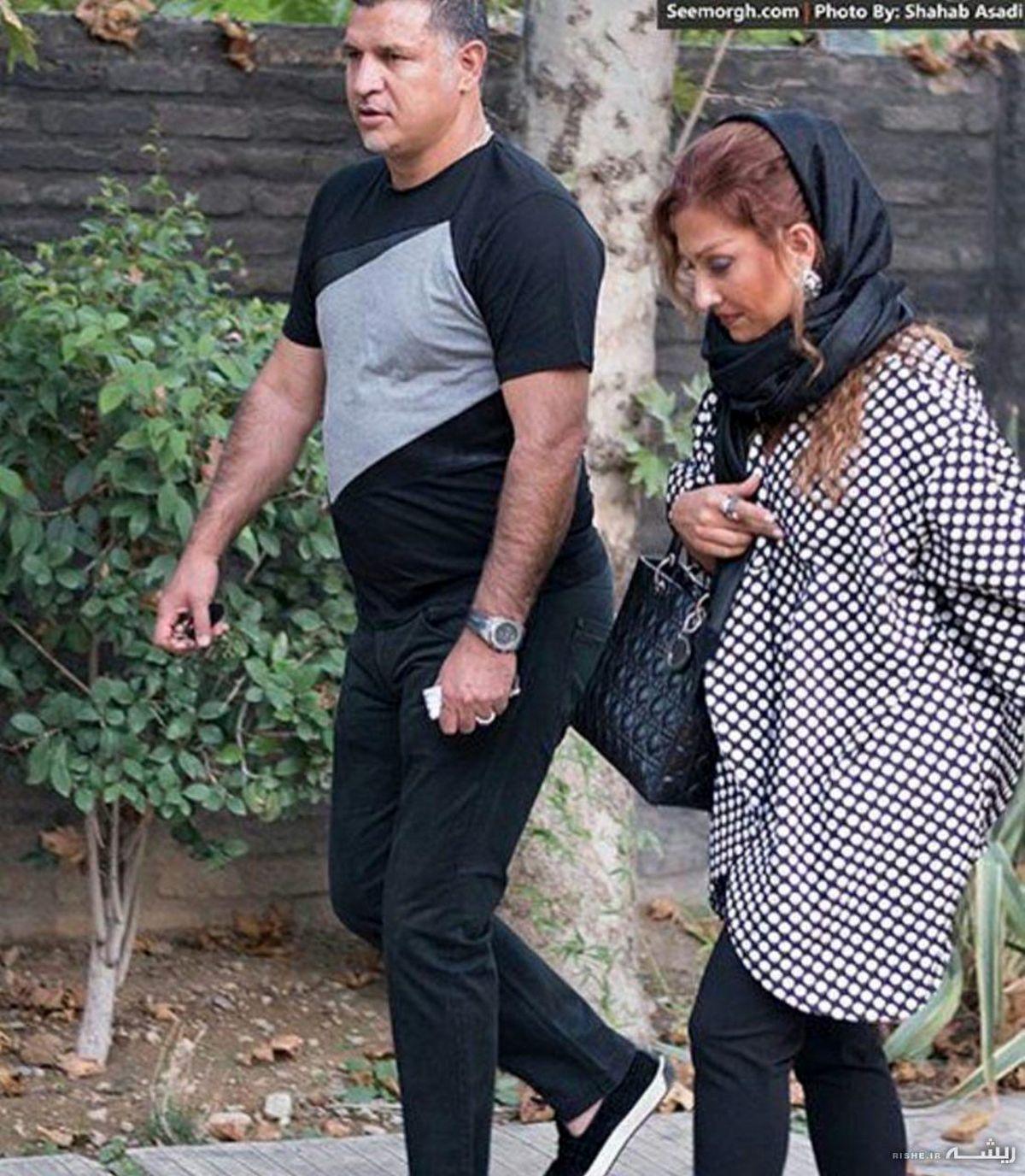 همسر دوم علی دایی کیست ؟ + بیوگرافی و تصاویر