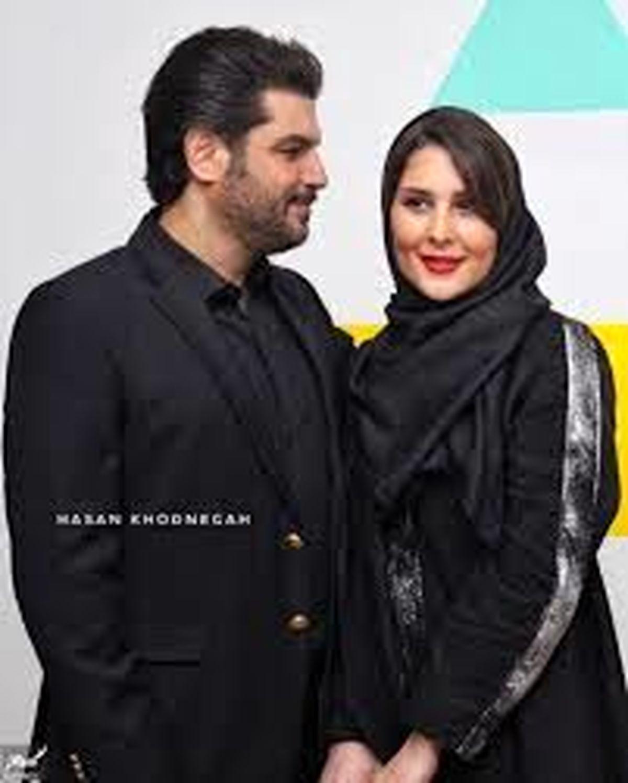 سام درخشانی و همسرش در حال خرید سیسمونی + عکس