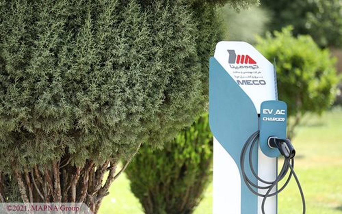 یک قدم راحتتر تا شارژ خودرو برقی با شارژرهای AC ایستگاهی مپنا