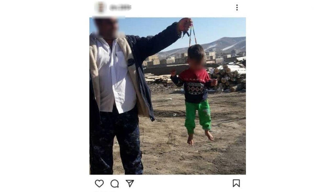 واکنش پرویز پرستویی به کودک ازاری مرد شیطان صفت در اینستاگرام + عکس