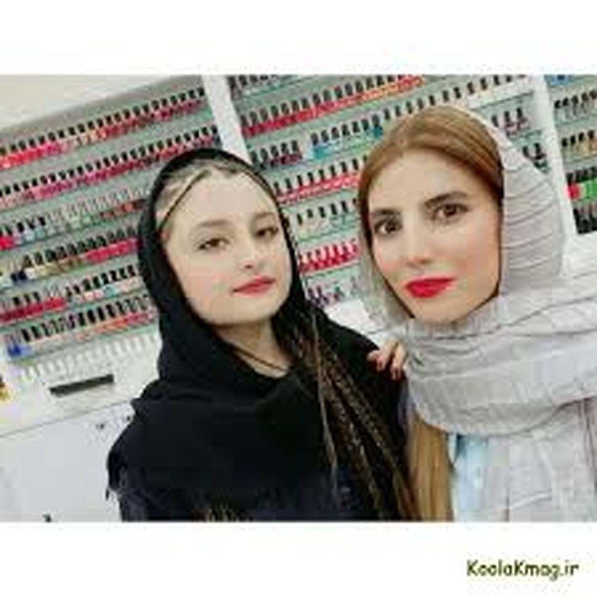سارا و نیکا در آرایشگاه لاکچری