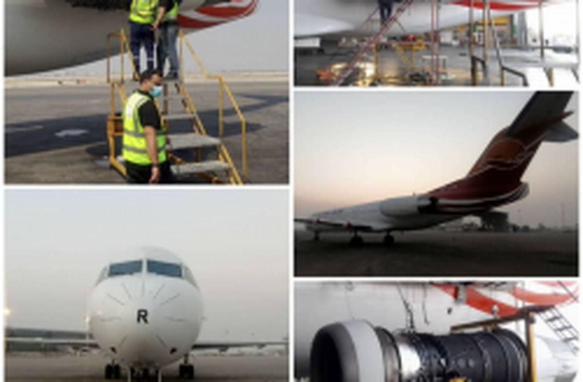 بازگشت سومین هواپیمای زمینگیر شده کیش ایر به ناوگان عملیاتی