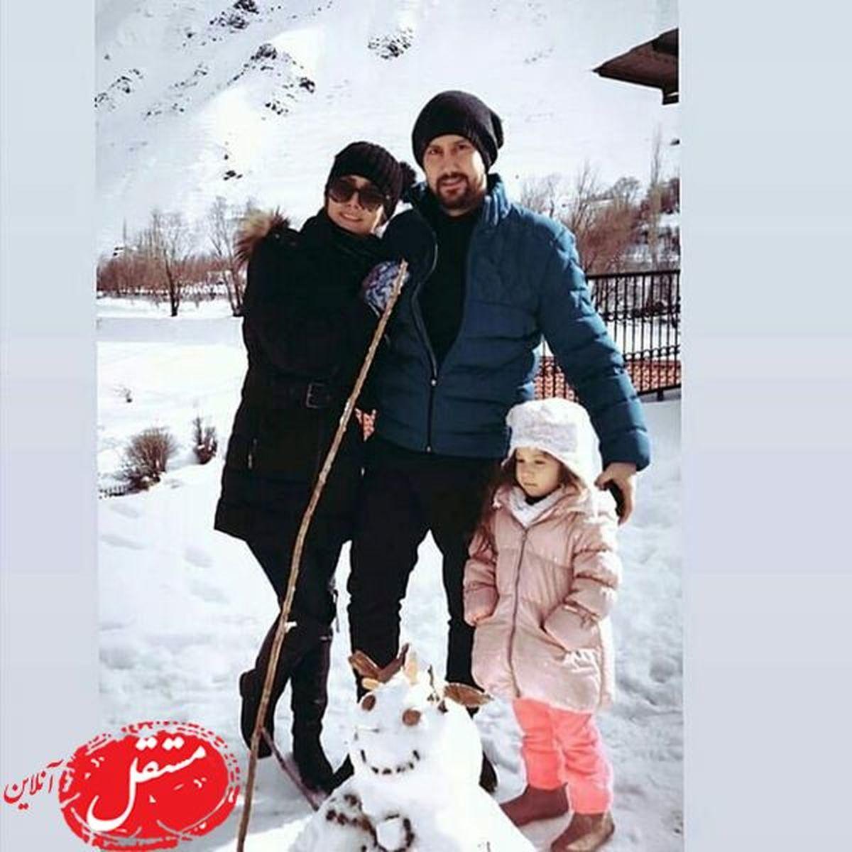 شایعه جدایی شاهرخ استخری از همسرش + عکس
