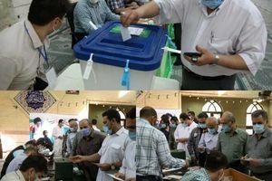 حضور پرشور آحاد کارکنان شرکت پالایش نفت تهران در سیزدهمین دوره انتحابات ریاست جمهوری