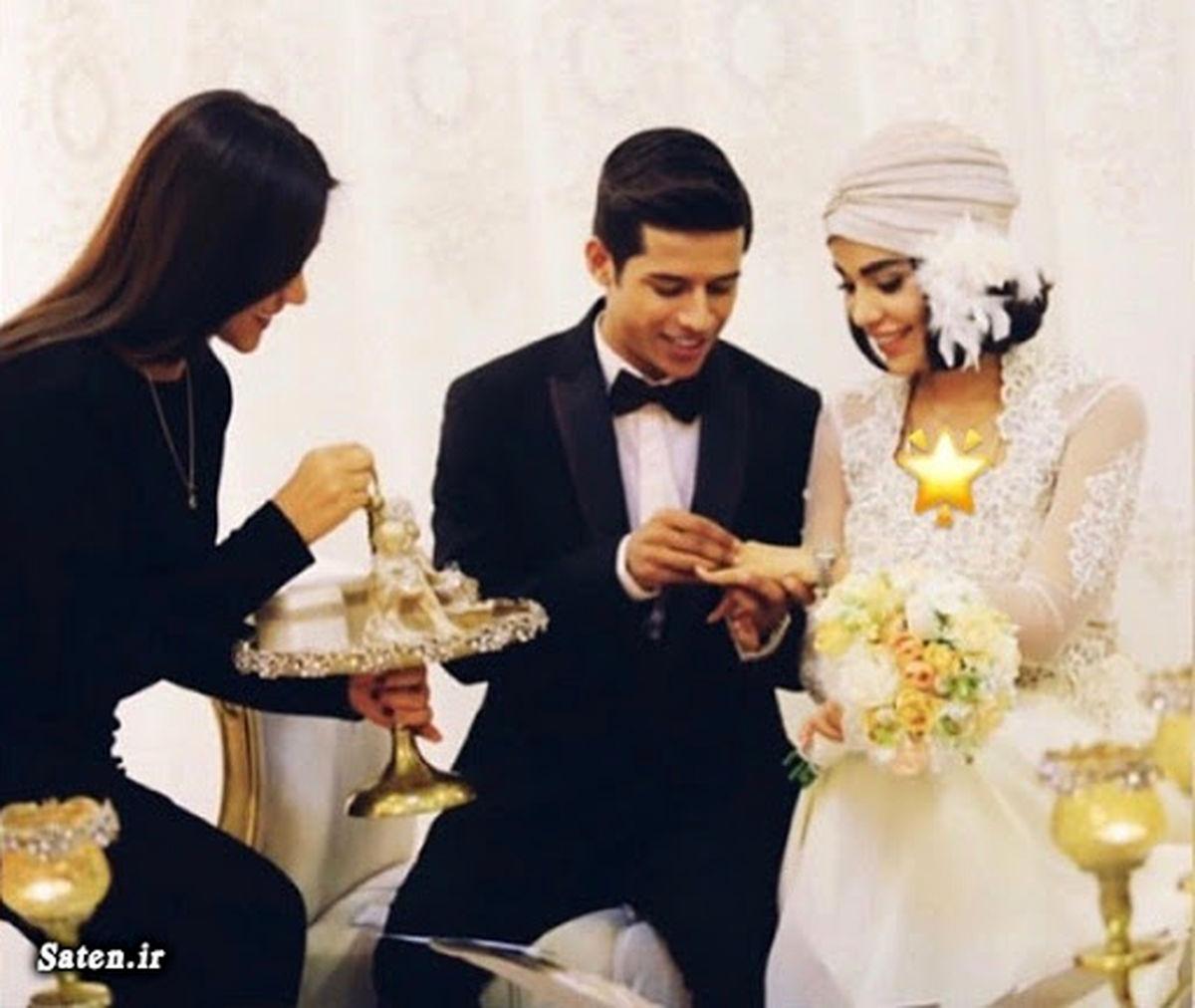 مهدی قائدی و همسرش در مهمانی  روی کشتی + عکس